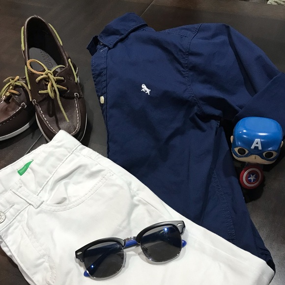 United Colors of Benetton/ H&M Other - 2 piece bundle Boys Pants and H&M shirt